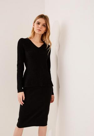 Пуловер Hugo Boss. Цвет: черный