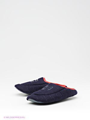 Тапочки Tommy Hilfiger. Цвет: темно-синий, красный