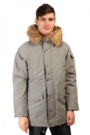Куртка парка  SKI-1 Grey Today. Цвет: серый