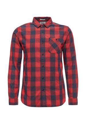 Рубашка Tommy Jeans. Цвет: красный