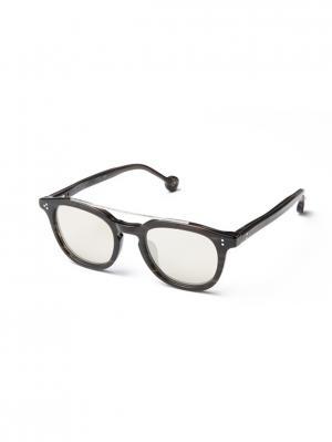 Солнцезащитные очки HS 600S 04 HALLY & SON. Цвет: темно-коричневый