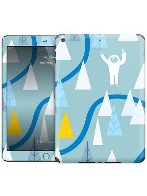 Наклейка на iPad Air Blue Yeti - Lizzy House Gelaskins. Цвет: светло-голубой, синий