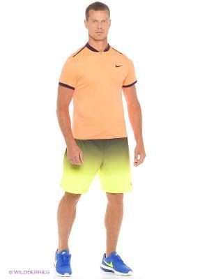 Футболка-поло M ADV POLO SOLID Nike. Цвет: оранжевый