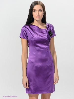 Платье TOPSANDTOPS. Цвет: фиолетовый