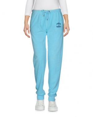 Повседневные брюки FRANKLIN & MARSHALL. Цвет: бирюзовый