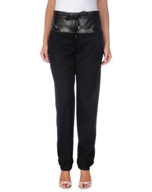 Повседневные брюки IRFÉ. Цвет: черный