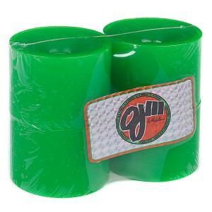 Колеса для скейтборда лонгборда  Thunder Juice Neon Green 75 mm Oj. Цвет: зеленый
