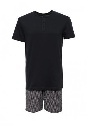Пижама Celio. Цвет: синий