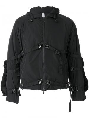 Strap buckle jacket Cottweiler. Цвет: чёрный