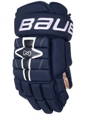 Перчатки BAUER NEXUS N7000 Юниорские. Цвет: темно-синий