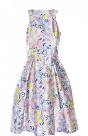 Платье Peter Pilotto. Цвет: разноцветный