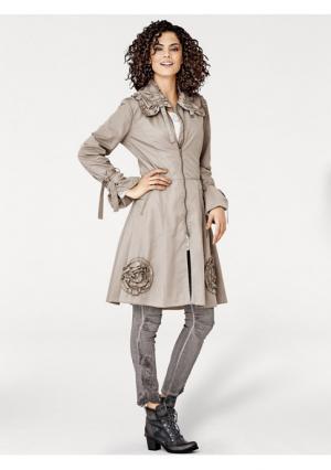 Пальто Linea Tesini. Цвет: песочный