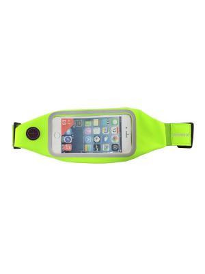 Пояс для телефона RH01 ROMIX. Цвет: зеленый