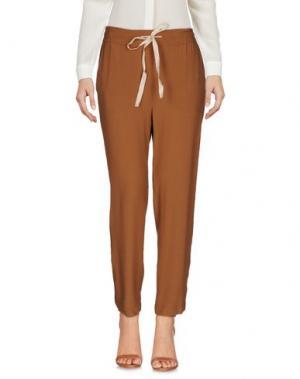 Повседневные брюки GOLD CASE. Цвет: коричневый