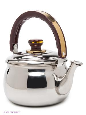 Чайник, 2 л MAYER-BOCH. Цвет: серебристый