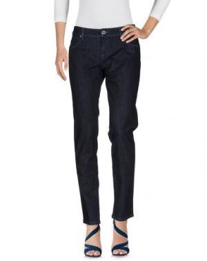 Джинсовые брюки PHARD. Цвет: синий