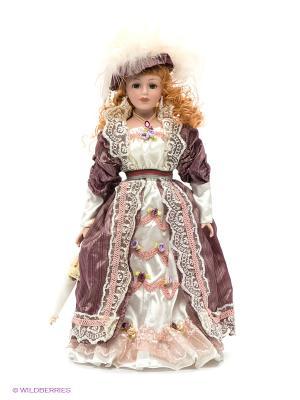 Кукла фарфоровая Ребекка Lisa Jane. Цвет: белый, коричневый