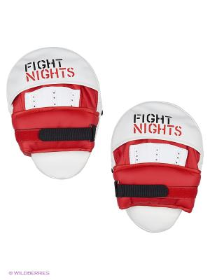 Лапа изогнутая, 2 шт Fight Nights. Цвет: красный