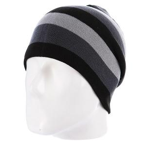 Шапка носок  Rainbow Black/Grey Neff. Цвет: серый,черный