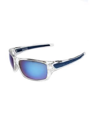 Солнцезащитные очки Gusachi. Цвет: синий