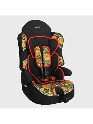 Детское автомобильное кресло ДРАЙВ коллекция ART SIGER. Цвет: черный