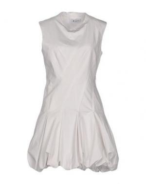 Короткое платье DONDUP. Цвет: слоновая кость
