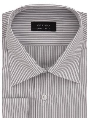 Рубашка CASINO. Цвет: серый