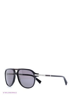Очки солнцезащитные BLD 1512 102 Baldinini. Цвет: черный, серебристый