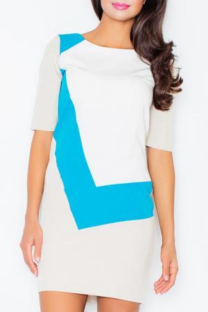 Платье Figl. Цвет: синий