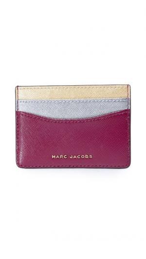 Трехцветная визитница Marc Jacobs