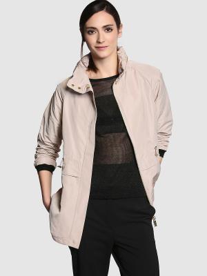 Куртка ZENDRA. Цвет: бежевый