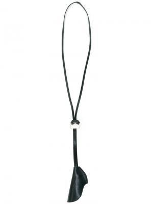 Лямка для ключей с кольцами Ally Capellino. Цвет: синий