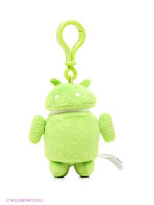 Брелок Android зеленый. Цвет: зеленый