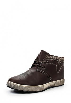 Ботинки Flair. Цвет: коричневый