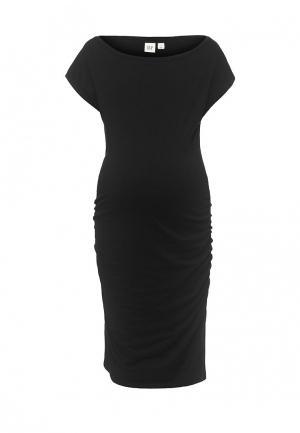 Платье Gap Maternity. Цвет: черный