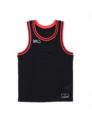 Майка спортивная K1X. Цвет: черный, красный