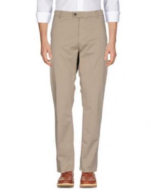 Повседневные брюки JOHN VARVATOS. Цвет: хаки