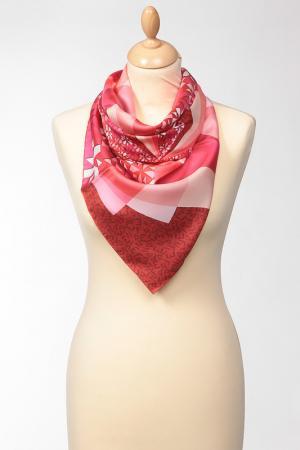 Платок Fendi. Цвет: красный, розовый