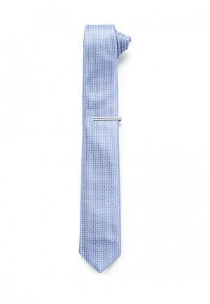 Галстук Burton Menswear London. Цвет: голубой