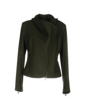 Куртка JIJIL. Цвет: зеленый-милитари