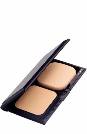 Сменный блок прозрачной матирующей компактной пудры, оттенок I60 Shiseido. Цвет: бесцветный