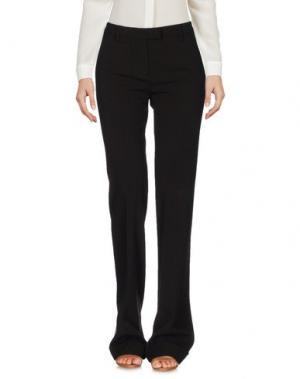Повседневные брюки FABERGE&ROCHES. Цвет: темно-коричневый