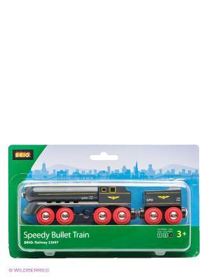 Игрушка Скорый поезд BRIO. Цвет: черный