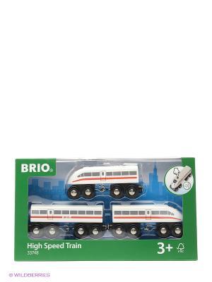 BRIO пассажирский поезд-экспресс со звуком  33748. Цвет: белый, черный