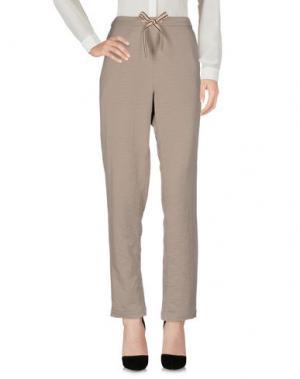 Повседневные брюки BELLEROSE. Цвет: светло-серый