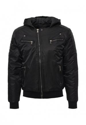 Куртка утепленная Hopenlife. Цвет: черный