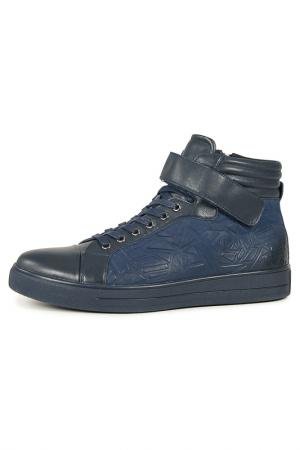 Ботинки Marko. Цвет: синий