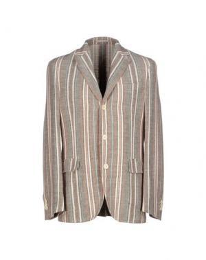 Пиджак ALAIN FRACASSÍ. Цвет: коричневый