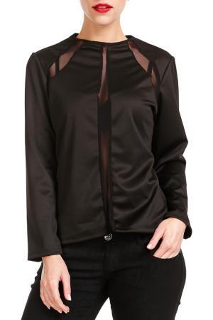 Блуза Marnis Etrois. Цвет: black