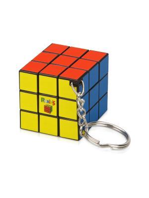 Брелок Кубик Рубика Дерево Счастья. Цвет: серебристый, красный, синий